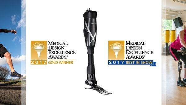 """Intelligenteste Beinprothese der Welt wird mit """"Best Medical Design"""" geehrt"""