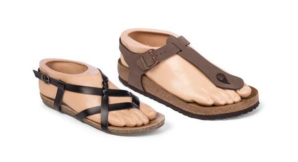 Die neue Sandal Toe Produktpalette